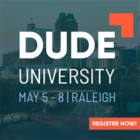 Dude U 2019 Registration Now Open!